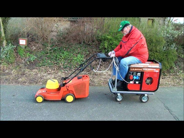Diesel-Elektrischer Rasenmäher (Seniorenmobil)
