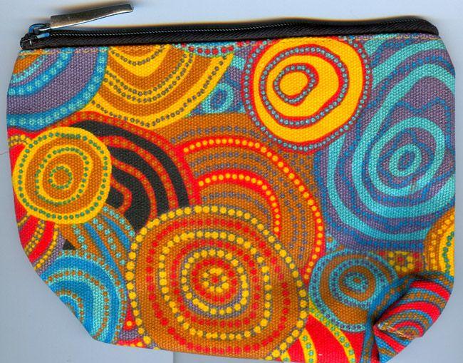 Jijaka 1Z Cosmetic Bag Firestones Artist: Code: JI-COS-5 Price: $10.00 or 2 for $18.00