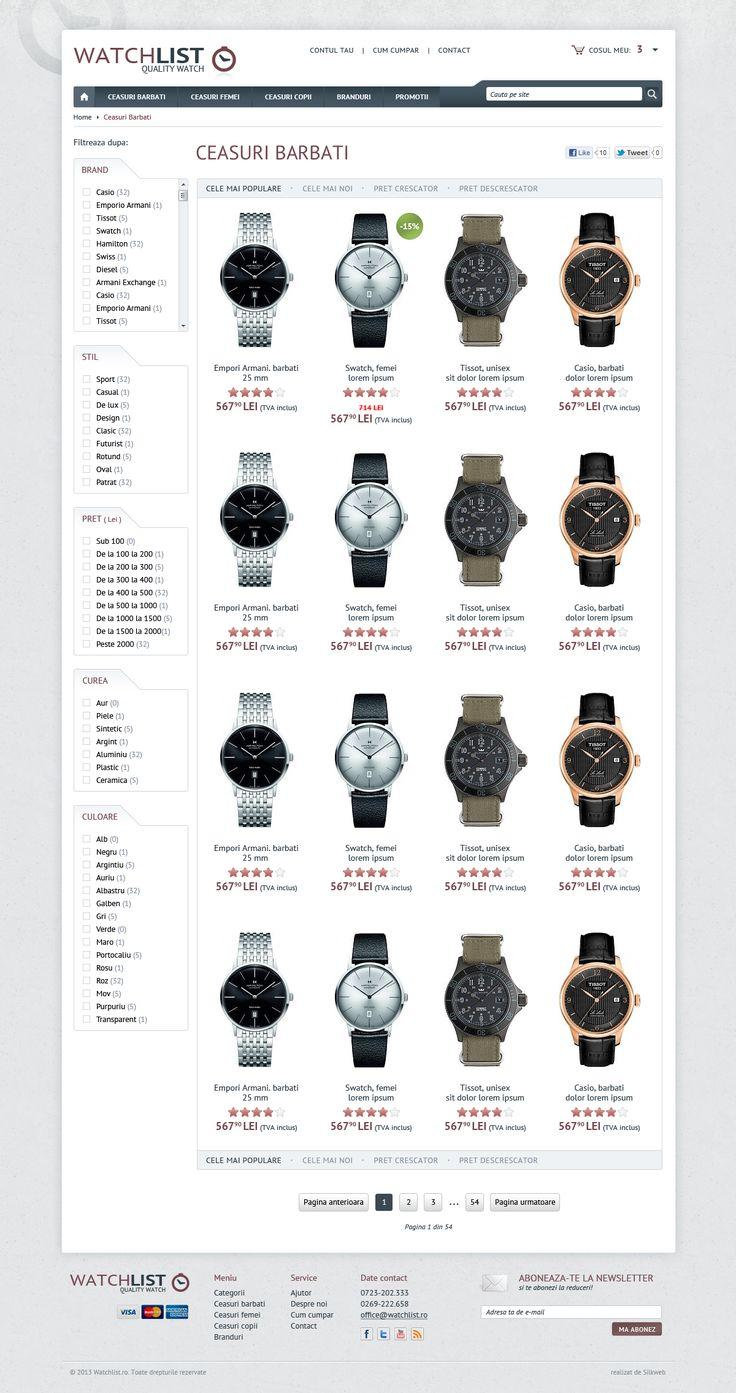 Listare produse - magazin online ceasuri