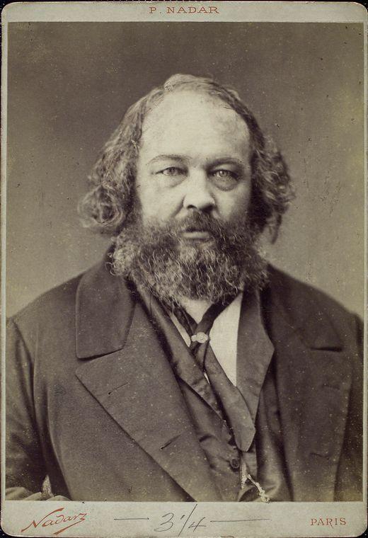 Mikhail Bakunin - Félix Nadar
