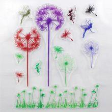 DECORA 1PCS  Dandelion Love Design Transparent Stamp DIY Scrapbooking/Card…