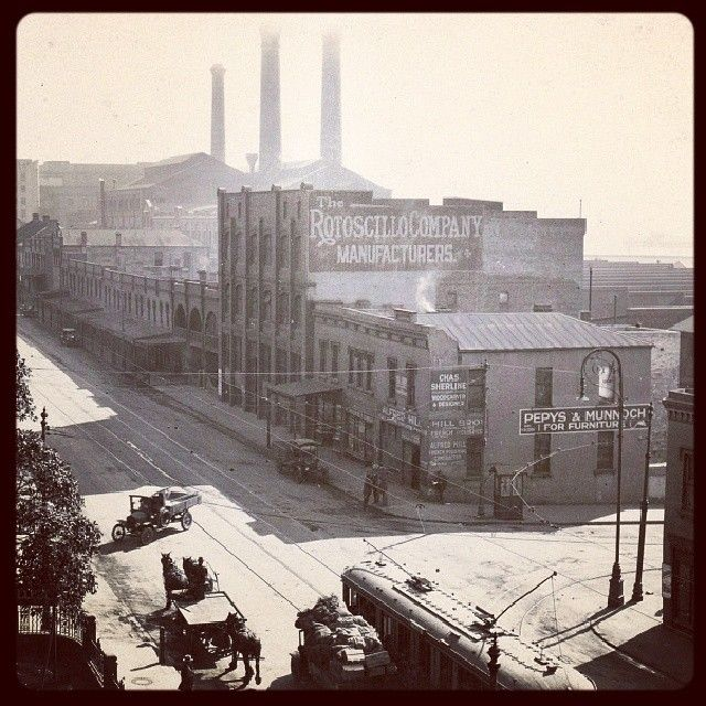 old Sydney Power Station from Harris Street c. 1900