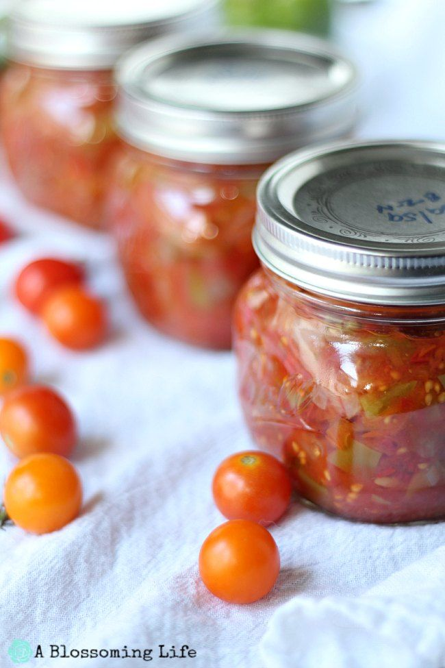 Canning Homemade Salsa for the First Time!  ~:: A Blossoming Life