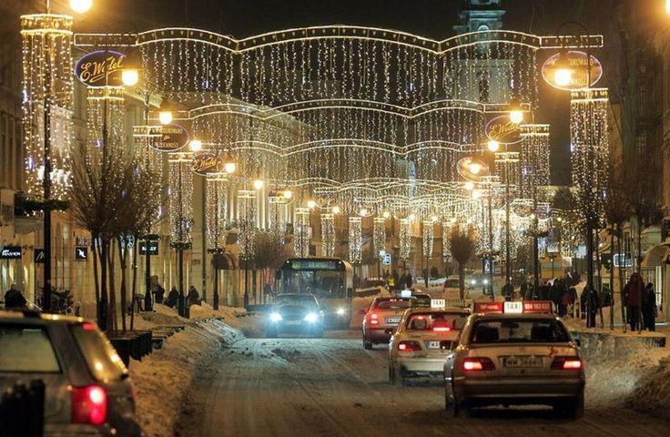 #excll #дизайнинтерьера #решения рождественские улицы - Варшава