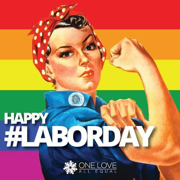 Happy #LaborDay! Courtesy of @ryanperezyyc.