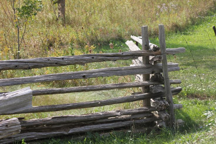 A Manitoulin Staple - Rail fence