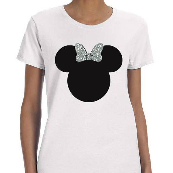 891fb0944 Glitter Minnie Shirt Glitter Sparkle Bling Ladies Disney Vacation Girls  Youth Unisex Matching For Her glitter