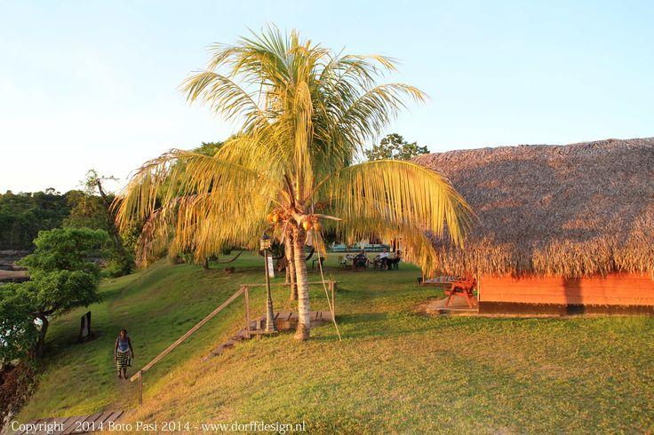 Resort Boto Pasi in het Binnenland van Suriname