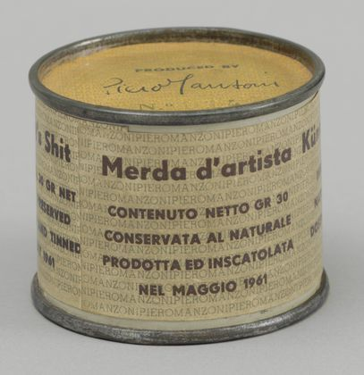 Artist's Shit No. 014  Piero Manzoni (Italian, 1933-1963) (Arte Povera)