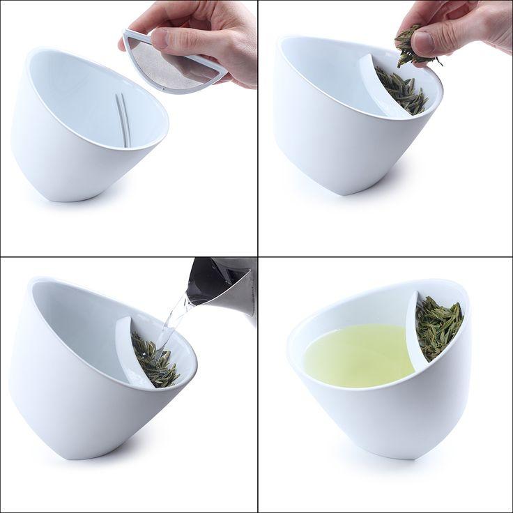 incredible tipping teacup!: Ideas, Tea Time, Teas, Tea Cups, Teacups, Products, Design, Teatime