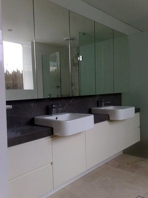 Suspended bathroom vanities St George Sydney
