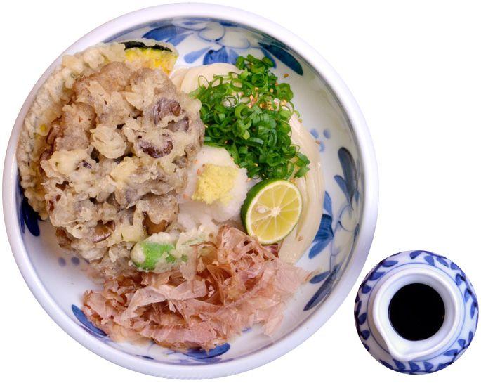 まいたけ天ぶっかけ悠讃 (うどんだいにんぐ ゆうざん)Udon Dining 悠讃