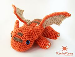 Ravelry: Baby Dragon Amigurumi Plush Toy pattern by Lily Coulombe