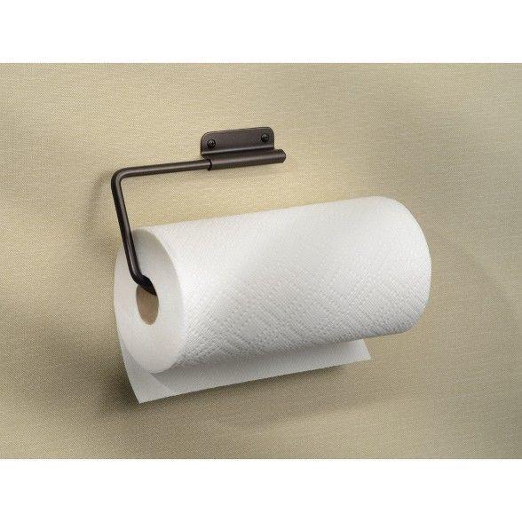 Interdesign Swivel Wall Mount Steel Paper Towel Holder Bronze In 2020 Towel Holder Paper Towel Interdesign
