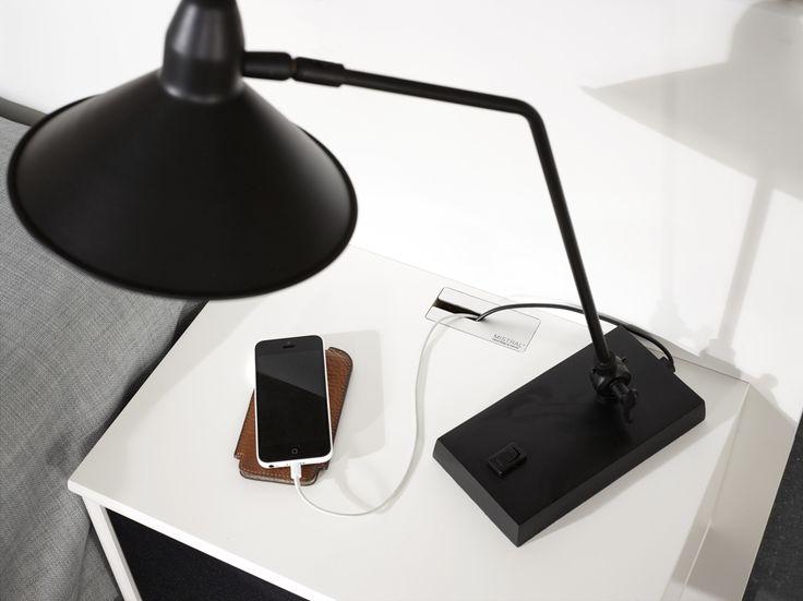 Smart flexibel förvaring av vår tillverkare Hammel. EM Möbler - Mistral.
