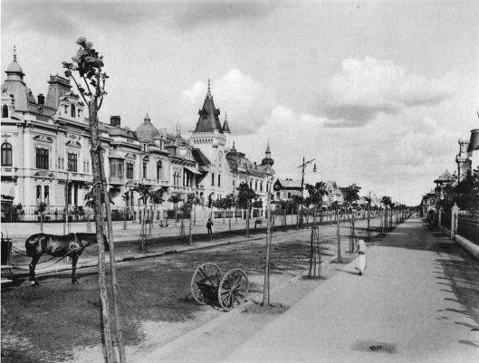 old Bucharest Romania vila piata victoriei bd. coltea vechiul bucuresti romanian capital city architecture
