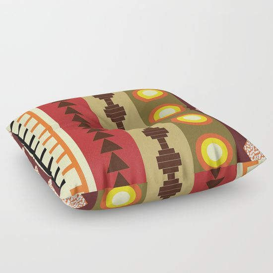 African tribal floor pillowfloor cushionfloor pillow
