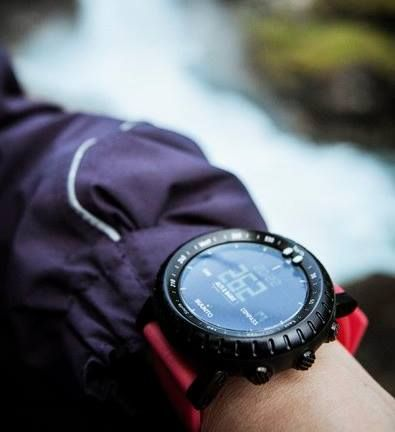 This outdoor watch with Altimeter, Barometer and Compass is designed specifically to bring out the explorer in you.