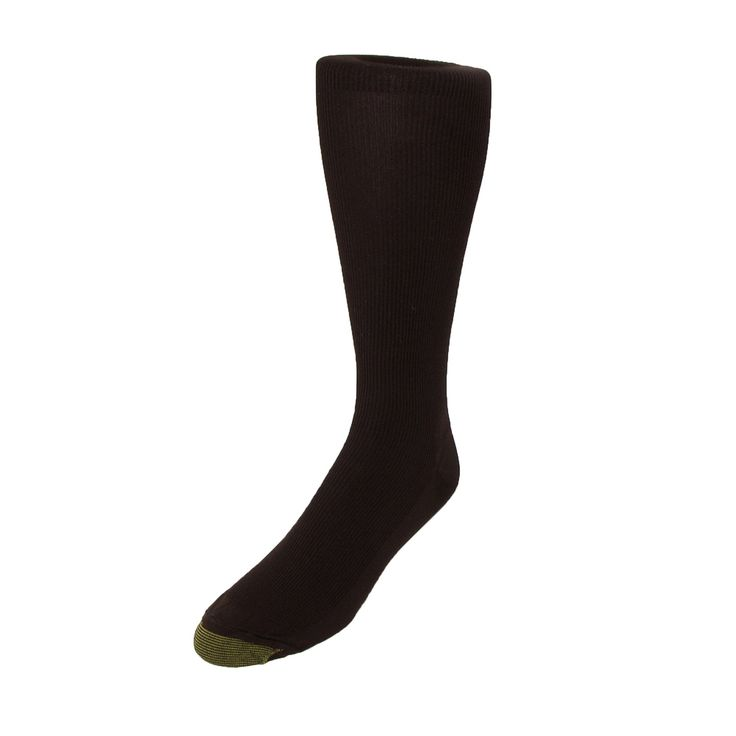 Gold Toe Men's Metropolitan Moisture Control Over the Calf Socks (Pack of 3)