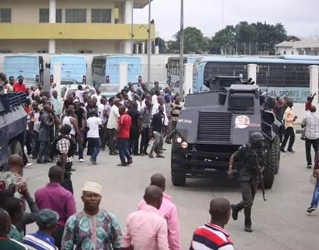 Security Operatives Attached to Kogi State Government House Beat Channels TV Reporter to Stupor