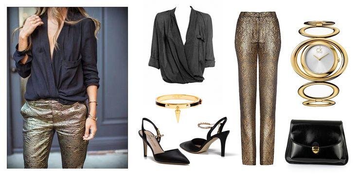Everyday glamour! :)  Sheos and Handbag - Clara-Veritas Shirt - ZARA Trousers - Almost Famous Clothing Wtach - Calvin Klein Bracelet - Henri Bengel