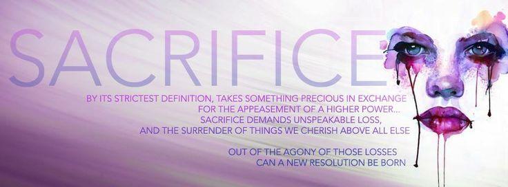 sacrifice quote revenge series, C.Y
