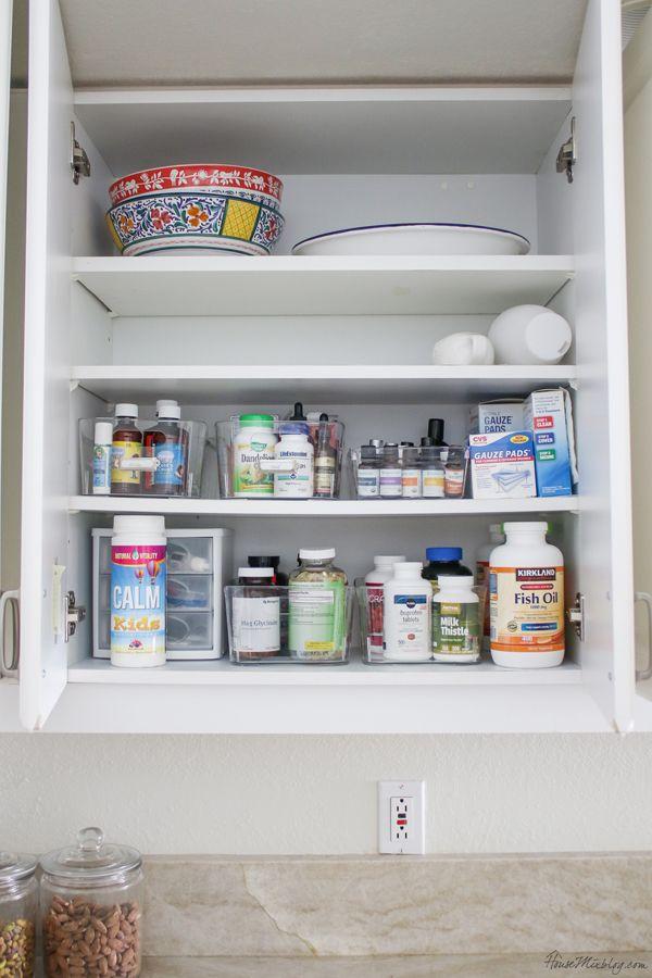 Kitchen Organization Ideas And Minimalist Checklist Kitchen