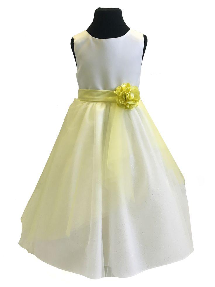 Tulle & Flower Overskirt (Dress not Included)