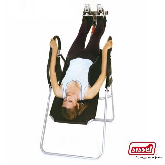 Voici le  SISSEL® HANG-UP -  Table d'inversion améliorée que vous trouverez au meilleur prix sur www.senup.com.     https://www.senup.com/sissel-hang-up-table-d-inversion-amelioree-2321.html     Soullage les douleurs de la colonne vertébrale.  Inversion jusqu'à 180°.  De haute qualité.