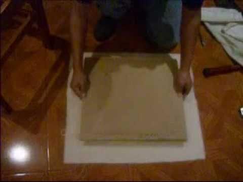 Tutorial para arreglar o tapizar las sillas de tu comedor - Chinchetas para tapizar ...