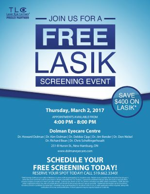 Come in for Laser Day! call for your appointment!
