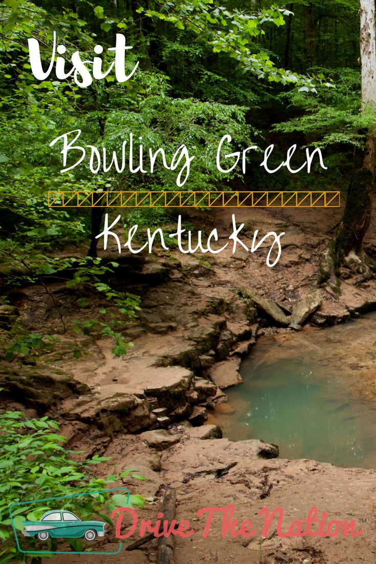Bowling Green is the third largest city in Kentucky, and it has many attractions both natural and manmade, to draw the driver's interest.