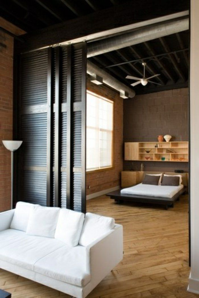 best 25 sliding door room dividers ideas on pinterest. Black Bedroom Furniture Sets. Home Design Ideas