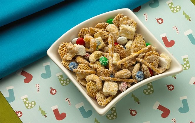 Reindeer Chow Recipe Snack Mix Recipes Cereal Recipes Reindeer Chow Recipe