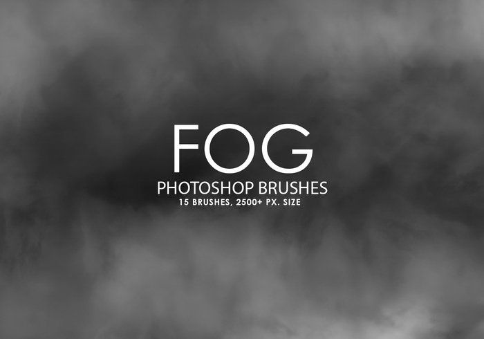 Free Fog Photoshop Brushes