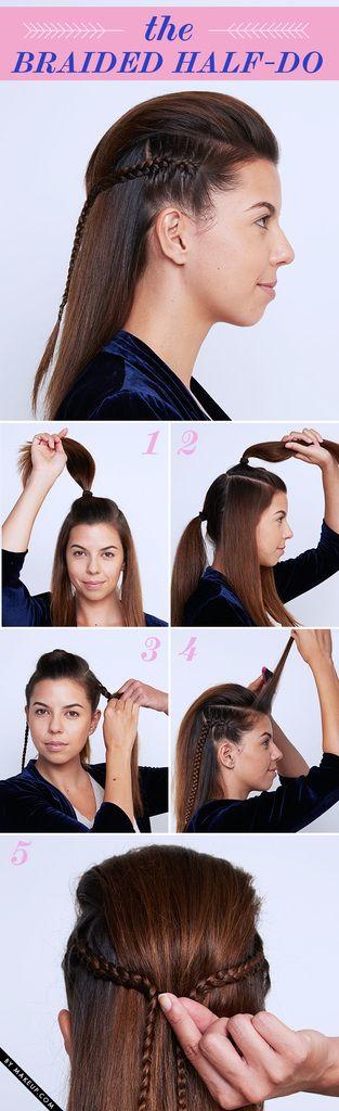 Tuesday Tutorial: Braided New Year's Eve Updos • Makeup.com - popular hair tutorials photo