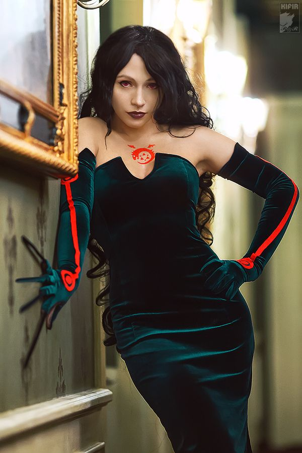 Lust - Full Metal Alchemist - One of my favorite characters in the series. Though... not the best way to go.