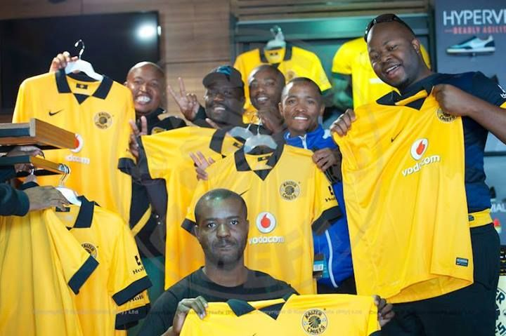 Gold. Bold. Glamour |  Chiefs fans show off their new 2013/14 supporters' jerseys.