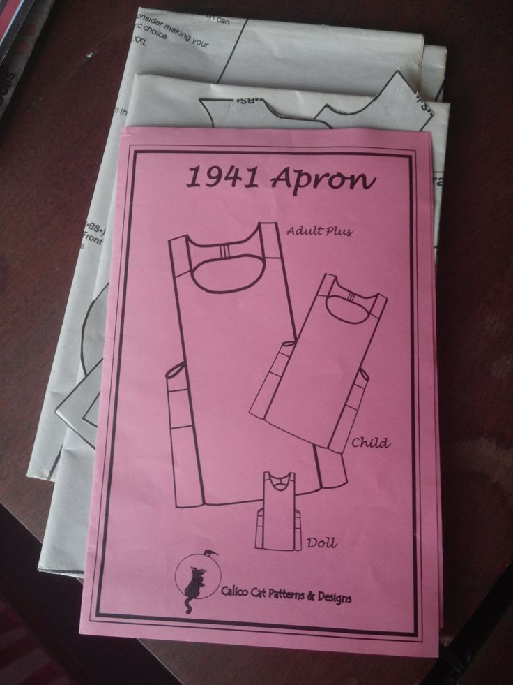 1941 Aprol Pattern for Adults, Child, and Doll by AnnesDollClothes on Etsy