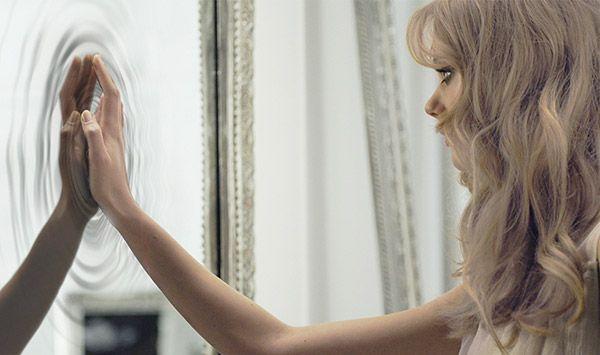 The advertising of Nina L'Eau, Nina Ricci new magical fragrance.