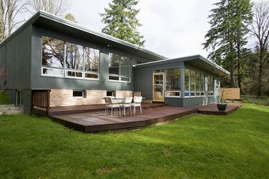 31 best images about mid century rambler on pinterest for Mid century modern windows
