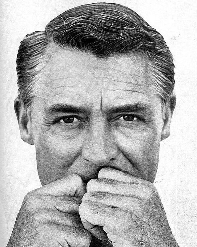 Cary Grant photographed by Richard Avedon/Vogue, December 1963