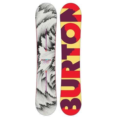 Burton Feelgood Flying V Snowboard - Women's 2015