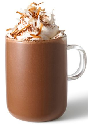 Coconut Hot Chocolate #Fall #Winter #Coconut #Hot #Chocolate #Organic