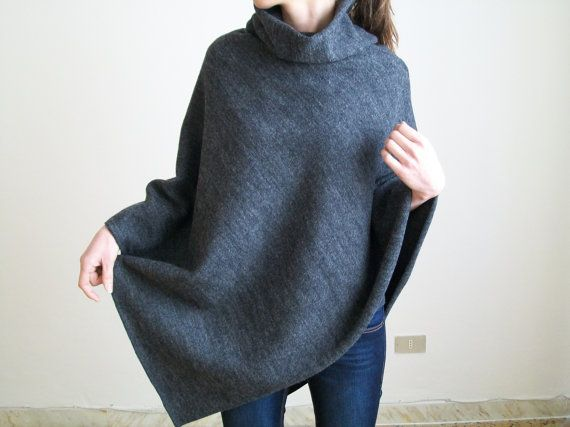 Hey, I found this really awesome Etsy listing at https://www.etsy.com/listing/227204864/women-poncho-wool-cape-wool-coat-women