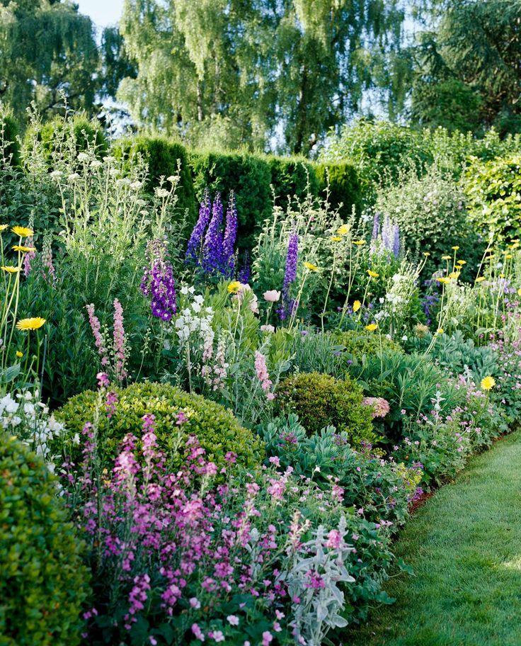 Garden Planning, How To Plant A Cottage Garden Border