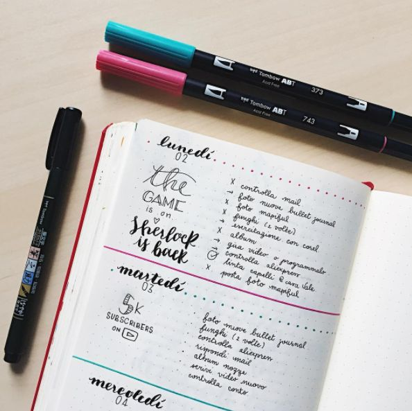 Know that this type of organizer can also work as a personal diary. | 16 Tips To Make 2017 Your Best Year Ever Using Just A Pencil And A Notebook