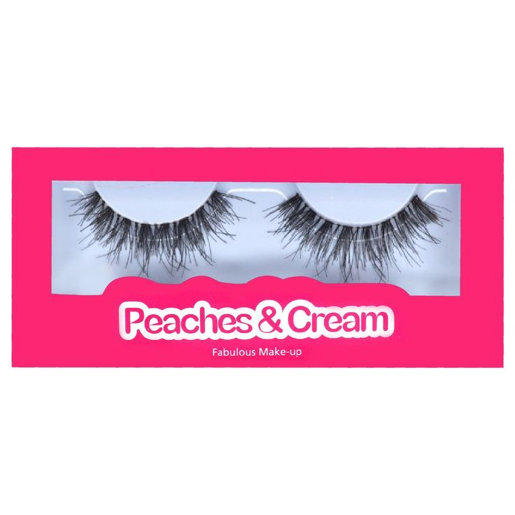 Click here to buy Peaches and Cream Lashes in Style No. 9 for £3.95 with FREE 1st Class delivery in the UK!