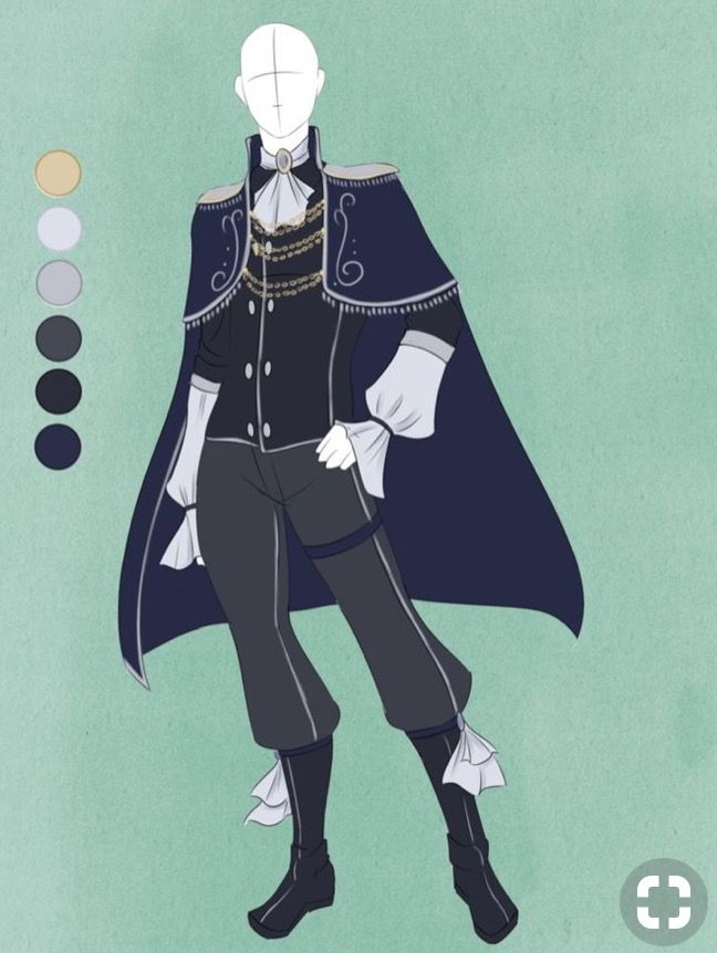 Prince Clothing Design Anime Outfits Fantasy Clothing Prince Clothes