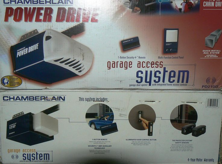 -- GARAGE DOOR OPENER SALES & INSTALLATION SERVICE:-- Arch Glass offers for sale professional quality garage door openers and remote access systems. The Chamberlain Power Drive & Lift Master models are very popular and offer the convenience of a 1-button security remote with anti-burglar protection along with a wall-mounted mult-function control panel. Do It Best Garage Door openers are also in stock, which are comparable in quality and value.